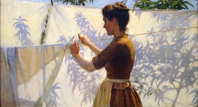 4 Charles Courtney Curran (1861-1942) Shadows