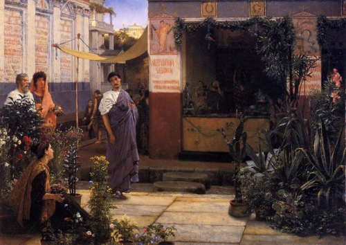 Alma_Tadema_The_Flower_Market