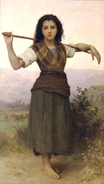 339px-William-Adolphe_Bouguereau_(1825-1905)_-_The_Shepherdess_(1889)