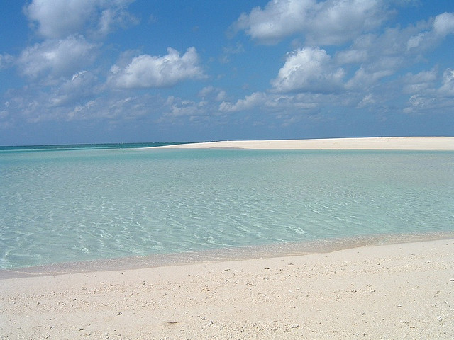 White Sands Beach in Okinawa
