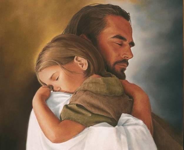 jesusholdingchild