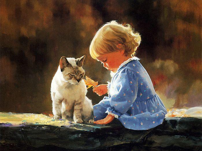 painting_children_kjb_DonaldZolan_81JustWeTwo_sm